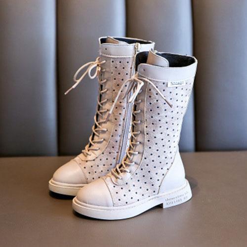 Giá bán Giày boot cho bé gái chất da mềm dễ phối với váy đi dự tiệc TC1-Be