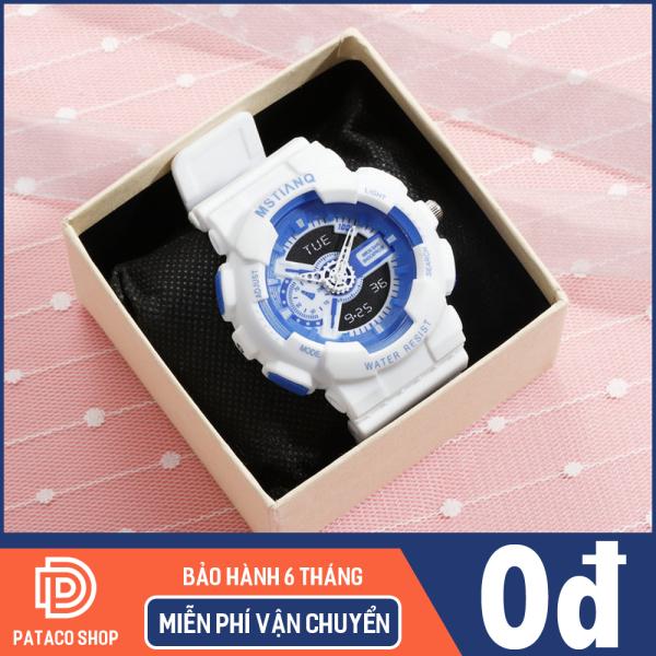 Nơi bán Đồng hồ thể thao nam nữ MSTIANQ M115 máy điện tử dây nhựa siêu bền có lịch ngày tự động kháng nước 3ATM bảo hành 6 tháng