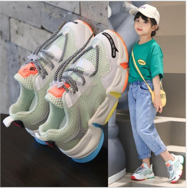 giày thể thao bé gái hàn quốc - TT223