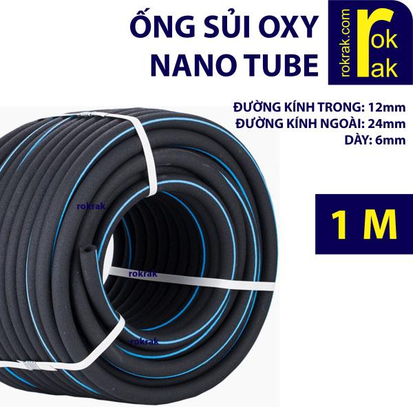 Ống sủi oxy nano tube aerotube đảo kaldnes sục hồ cá siêu mịn bền dẻo