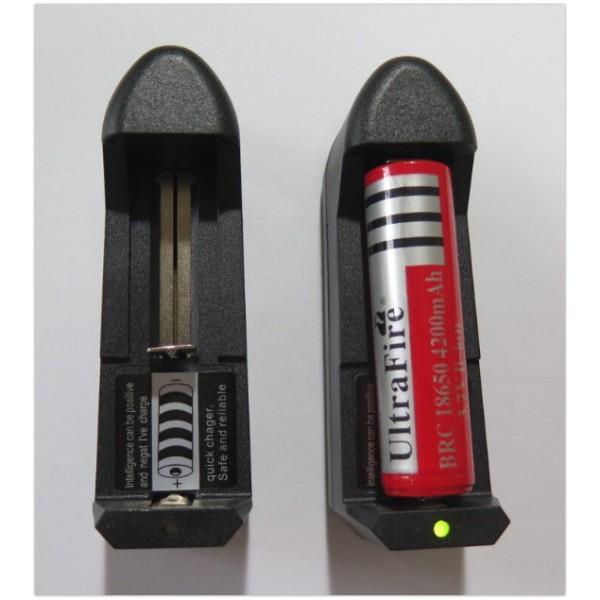Sạc Pin li-ion 3.7V Loại 1 Viên (Cắm Điện) - SPCD1