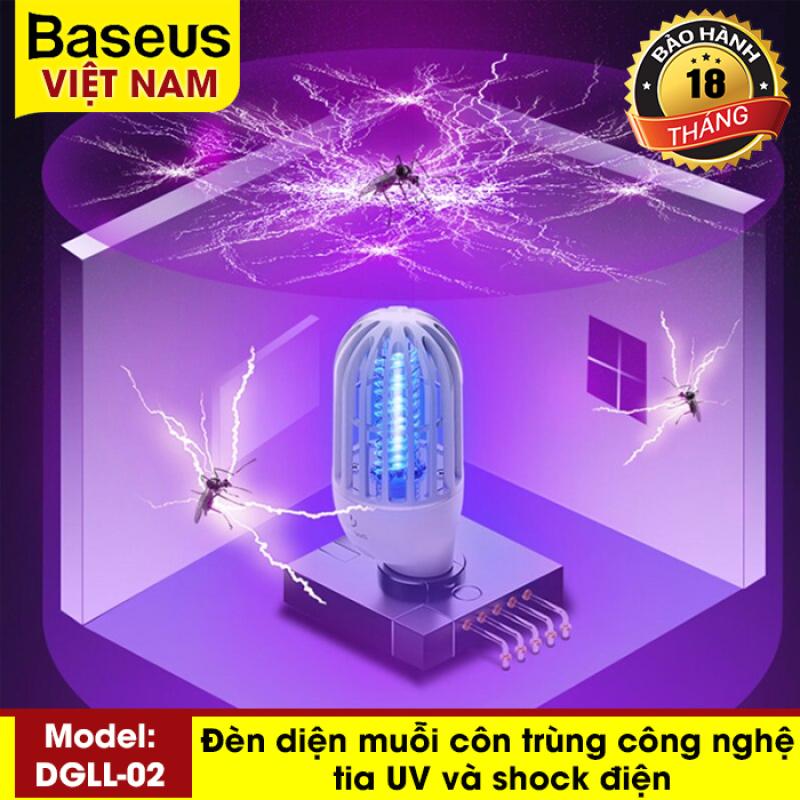 Đèn bắt muỗi, diệt côn trùng Baseus Linlon Outlet Mosquito Lamp (phích cắm tiêu chuẩn CN)
