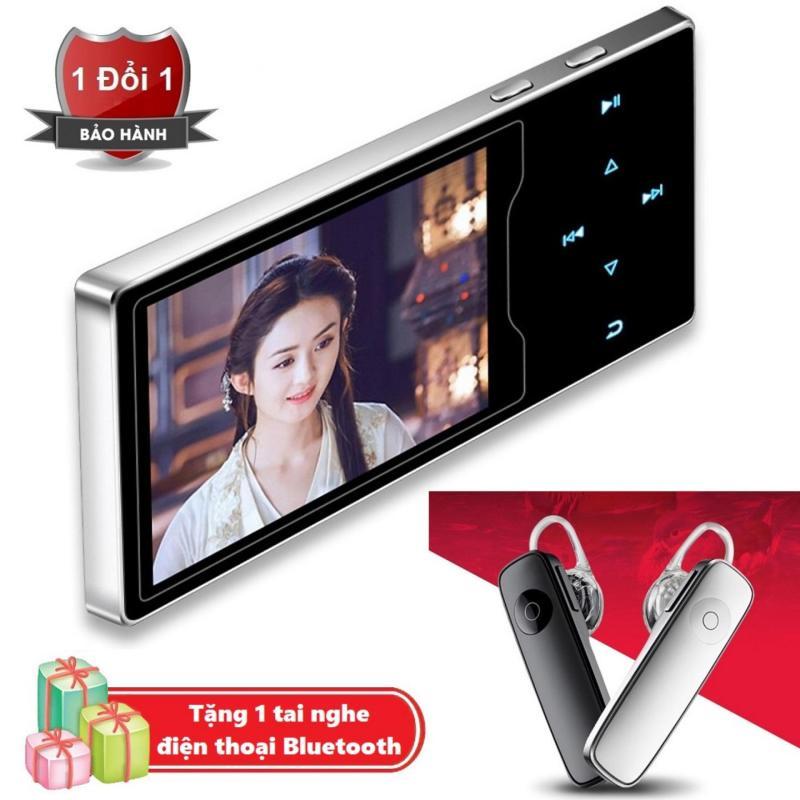 Máy nghe nhạc Ruizu D08 cao cấp màn hình HD 2.4 inch Tặng kèm Tai nghe nhạc không dây M16
