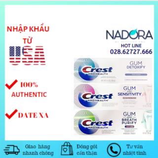 [HCM][Đủ Mùi] Kem Đánh Răng Crest Pro-Health Gum (116g) thumbnail