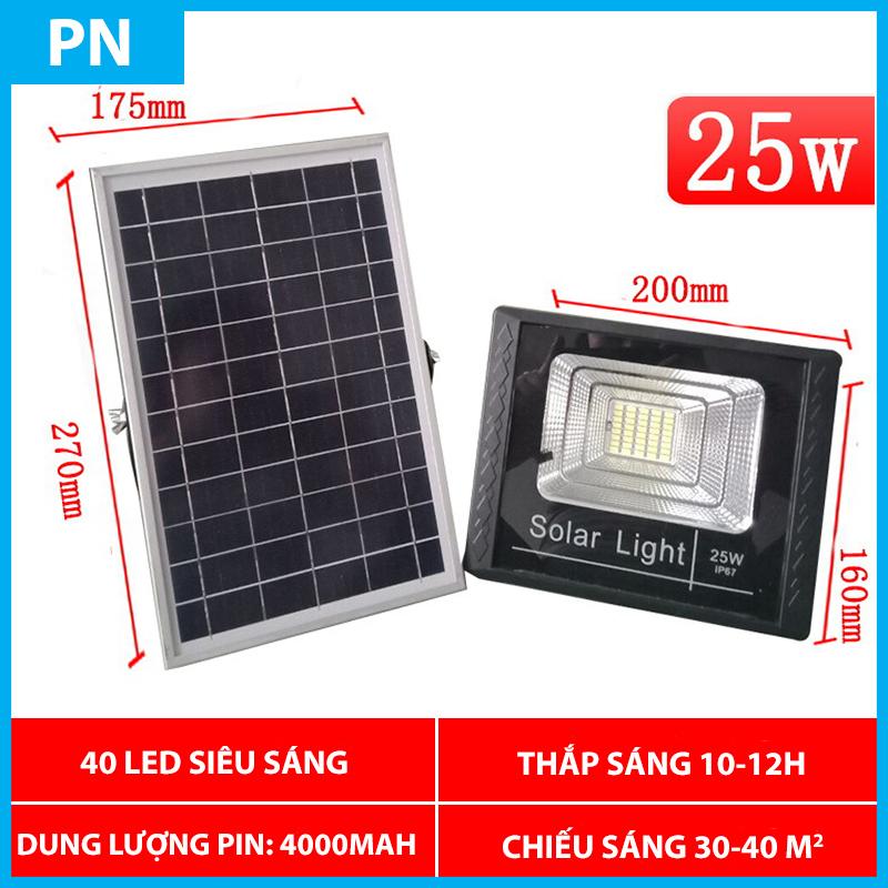 Đèn năng lượng mặt trời Solar Light 25W