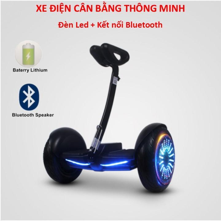 Mua Xe điện cân bằng thông minh có đèn Led + Kết nối Bluetooth phát nhạc