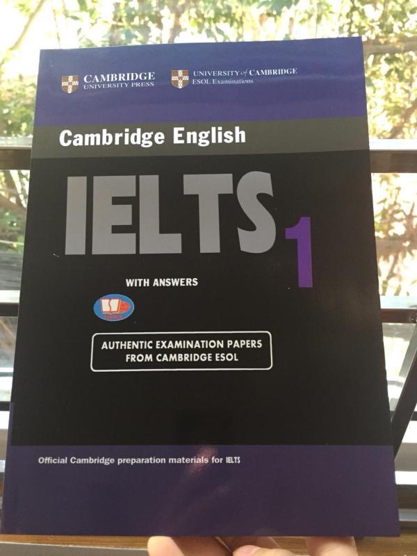 Mua Cambridge IELTS 1 Không CD
