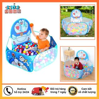 Nhà bóng, lều bóng cho bé, Tặng kèm 25 bóng nhựa đầy đủ màu sắc thumbnail