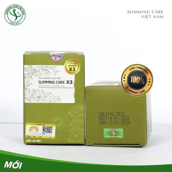 Thảo mộc giảm cân Slimming care x3 hiệu quả sau 1 liệu trình sử dụng