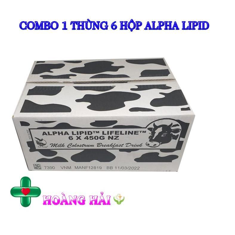 [COMBO 6 HỘP] Sữa Non Alpha Lipid Lifeline Của New...