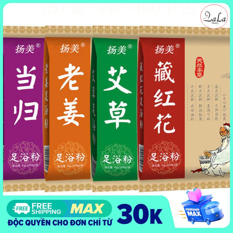 [BỊCH 100 GÓI] Thảo Dược Ngâm Chân Đông Y, Giúp Ngủ Sâu, Giảm Đau Xương Khớp nhập khẩu
