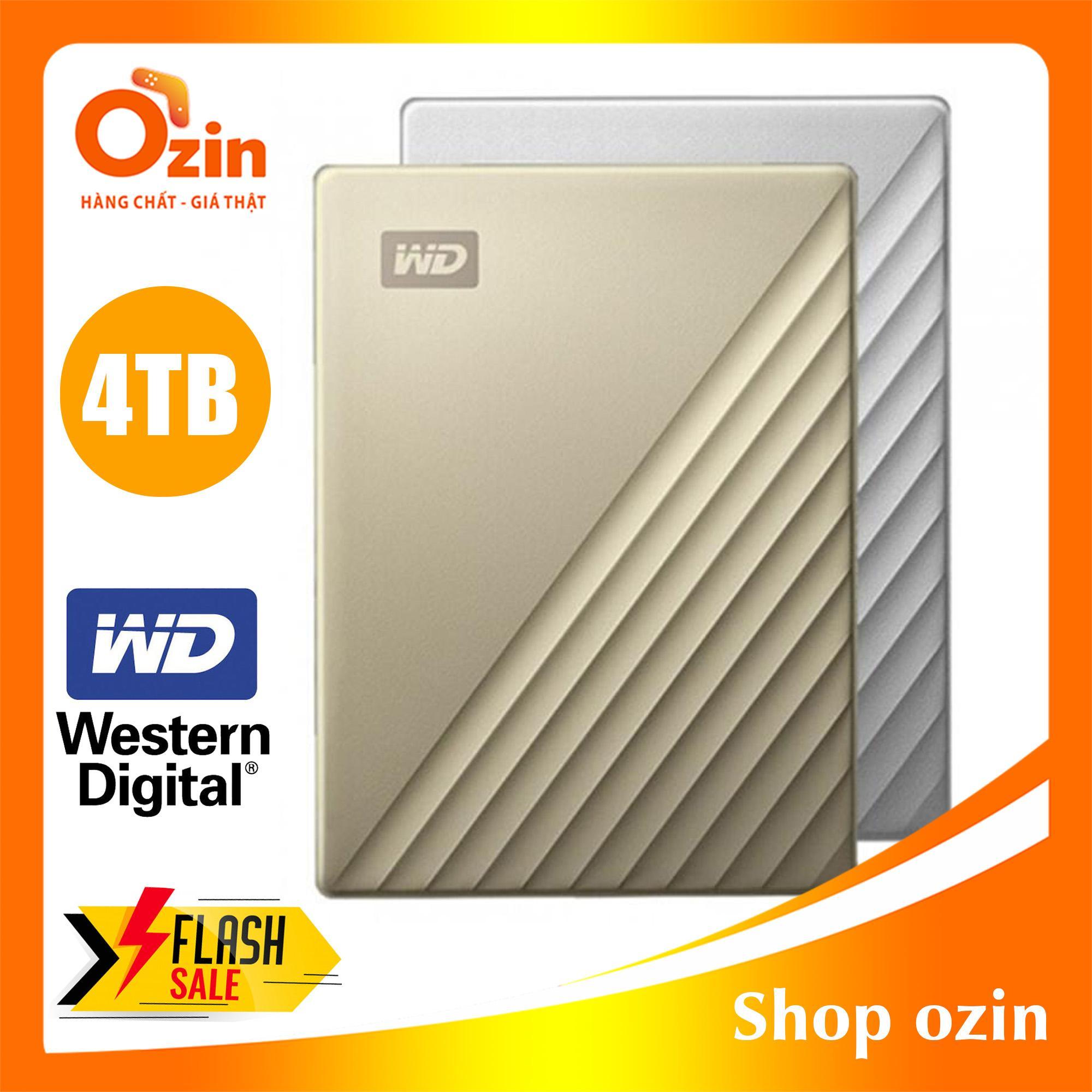Ổ cứng di động Western Digital my passport 4TB USB 3.0