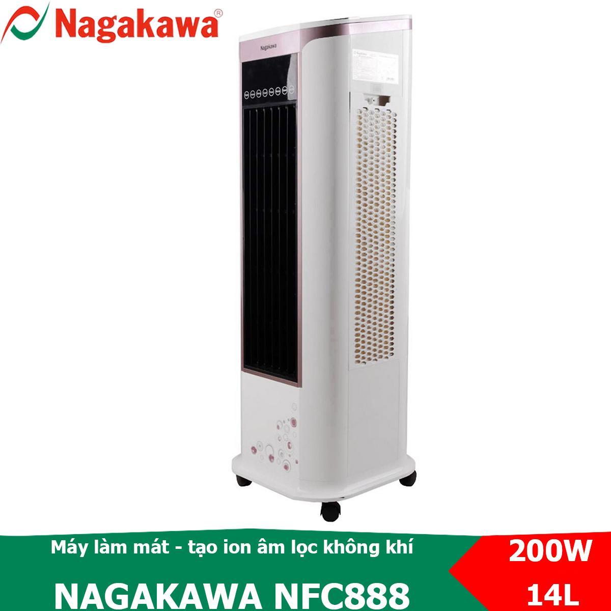 Máy Làm Mát điều Khiển Từ Xa Nagakawa NFC888 Có Chức Năng Tạo Ion âm Và đảo Gió đa Chiều Đang Khuyến Mại Khủng