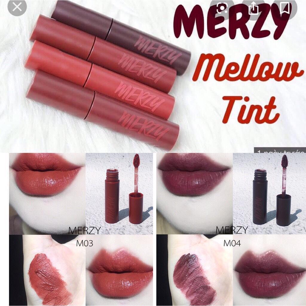 Son Kem Lì, Siêu Mịn Merzy Bite The Beat Mellow Tint tốt nhất