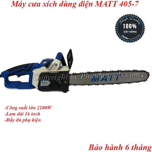 Máy cưa xích cầm tay MATT 403-7-Công suất 1900W-Bảo hành 6 tháng