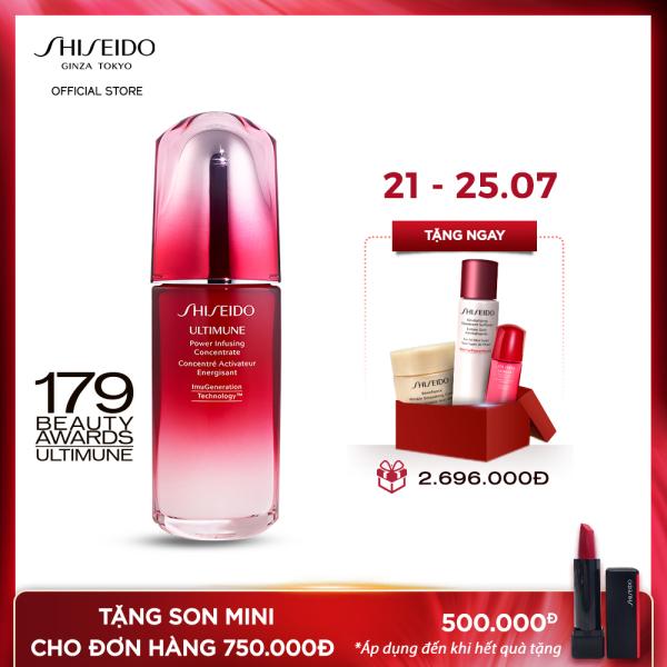 Tinh chất dưỡng da Shiseido Ultimune Power Infusing Concentrate N 75ml cao cấp