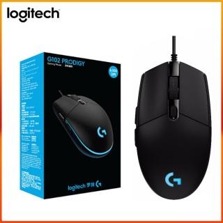 Chuột có dây, Chuột game Logitech G102 Prodigy RGB LED (Đen) - Phân phối chính thức bởi Sun Plaza 1 thumbnail