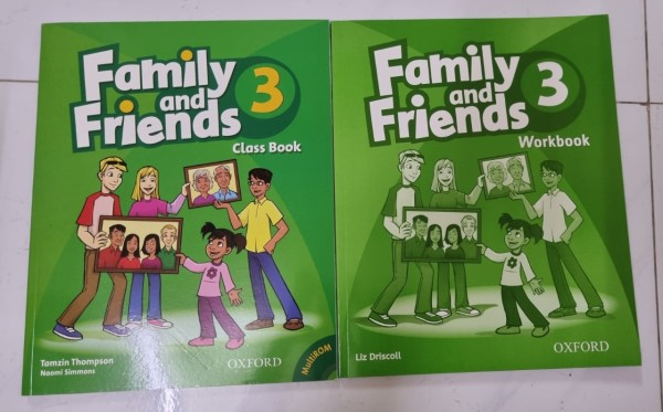 Bộ Family and Friends 3 bản 1st [bộ 2 cuốn]