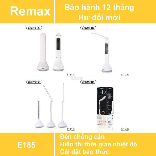 REMAX RT-E185 TIME SERIES LED : Đèn bàn LED tích điện chống cận 3 chế độ sáng - Hiển thị Ngày, Giờ, Nhiệt độ