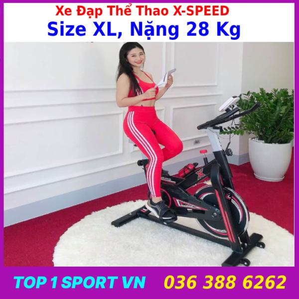Bán hàng trực tiếp xuyên biên giới xe đạp tập thể dục X-speed 709 xe đạp quay hộ gia đình siêu êm xe đạp tập thể dục trong nhà thiết bị thể thao đạp xe đạp bảo hành 36 tháng