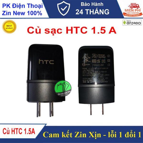 Củ sạc 1.5A dành cho HTC-Cam kết hàng chuẩn Zin-BH 24 tháng