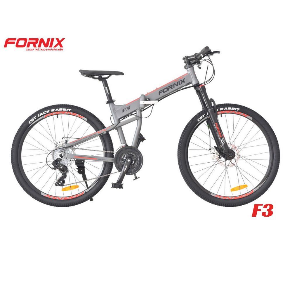 Mua Xe đạp gấp thể thao F3 màu BẠC