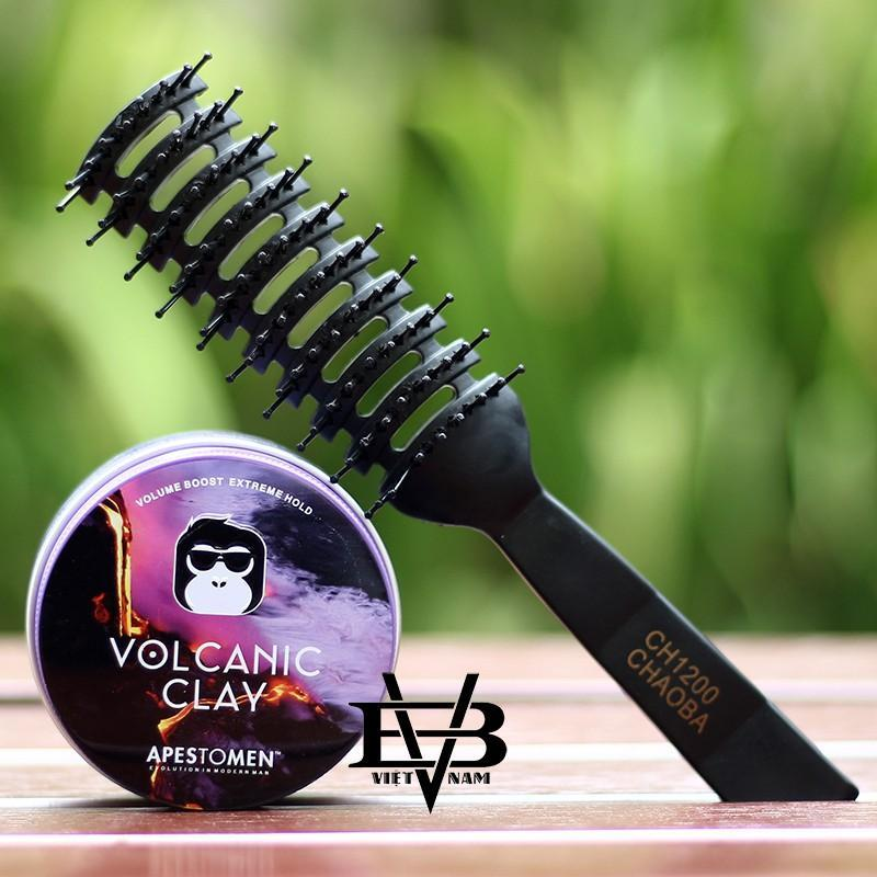 Sáp vuốt tóc Apestomen Volcanic Clay 2018 - 80ml + Tặng lược tạo kiểu Chaoba cao cấp giá rẻ