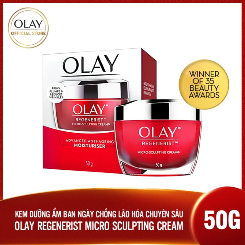Kem dưỡng ẩm ban ngày chống lão hóa Olay Regenerist Micro Sculpting Cream 50g giá rẻ