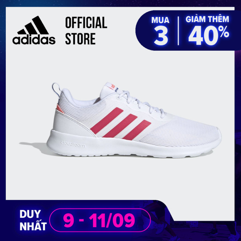 adidas RUNNING Giày QT Racer 2.0 Nữ Màu trắng FW7280 giá rẻ