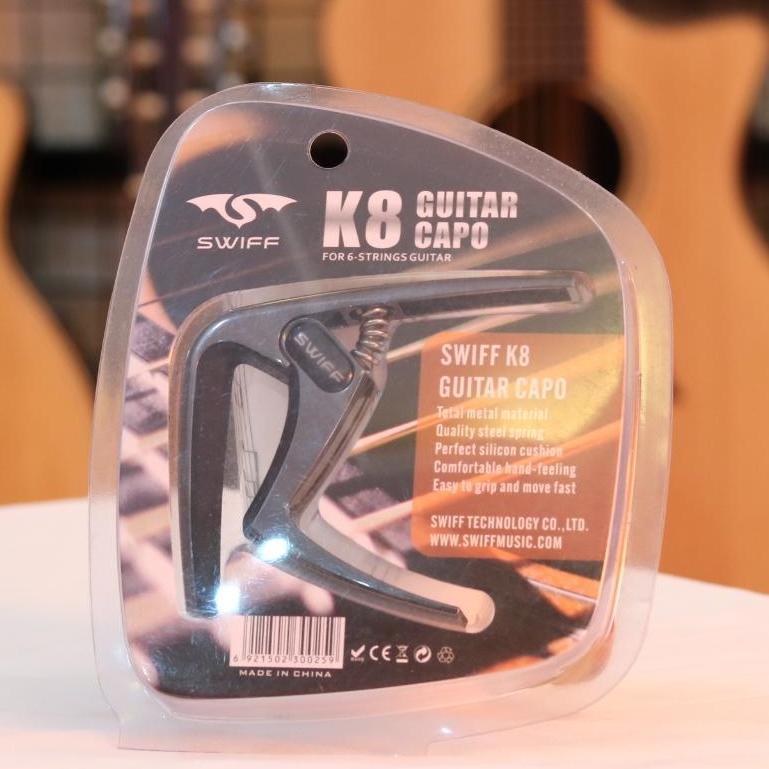 Capo Guitar Swiff K8