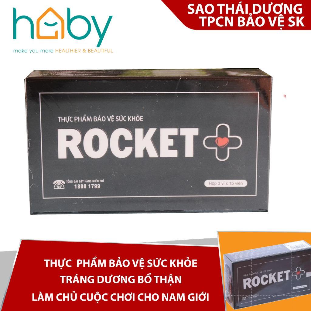 TPCN bổ sung sức khỏe sao thái dương Rocket +  45 viên