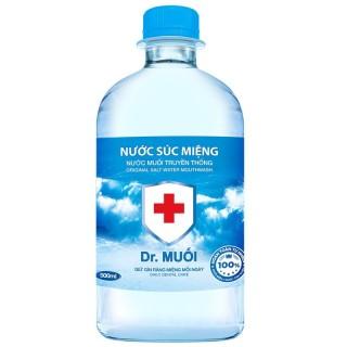 5 chai Nước Súc Miệng Dr. Muối Truyền Thống (chai 500ml) thumbnail