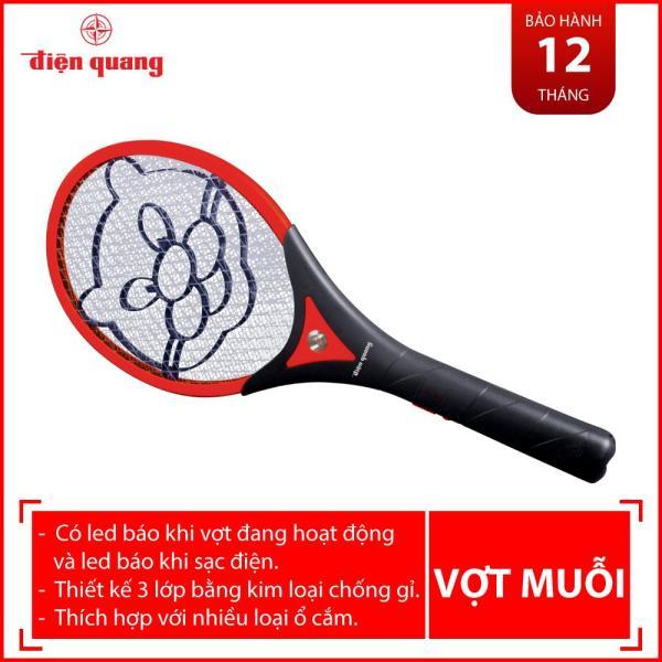 Vợt muỗi Điện Quang ĐQ EMR01 BLR (Đen - Đỏ)