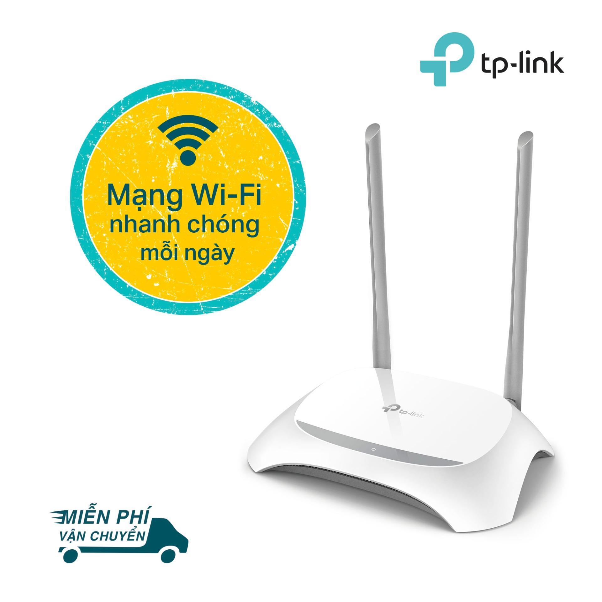 TP-Link bộ phát Wifi Chuẩn N 300Mbps cho tốc độ truyền tải nhanh TL-WR840N -Hãng phân phối chính thức