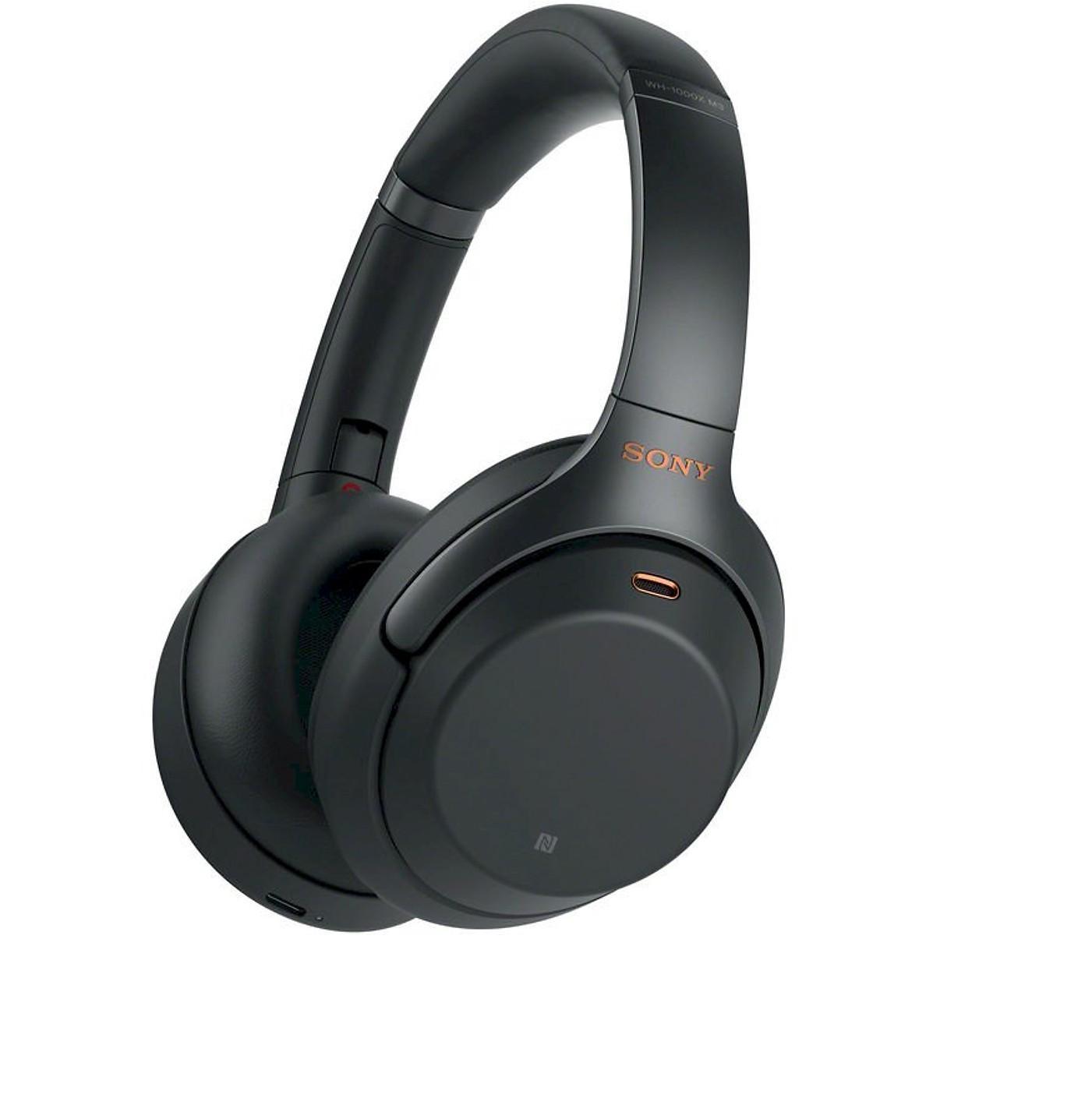 Tai Nghe Bluetooth Chụp Tai Sony WH-1000XM3 Hi-Res Noise Canceling (Đen)