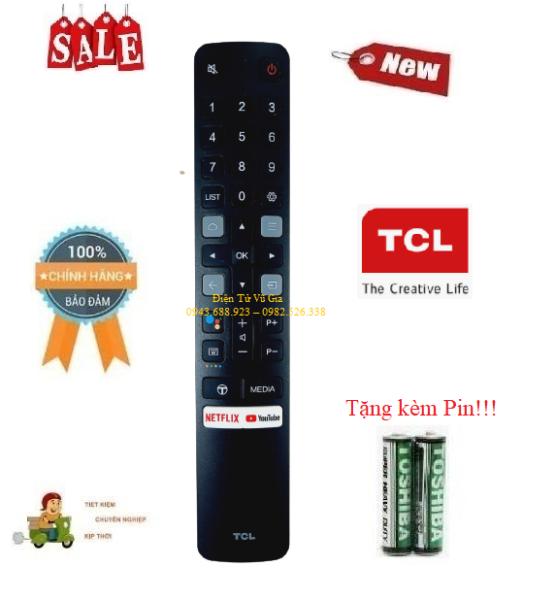 Bảng giá Remote Điều khiển tivi TCL giọng nói- Hàng mới chính hãng 100% Tặng kèm Pin