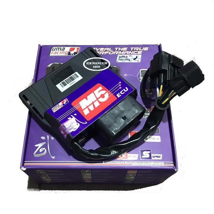 ECU UMA RACING M5 –  BLUTOOTH CONNECTION TUNING CHO EXCITER 150 Giảm Cực Khủng