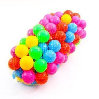 Túi 100 quả bóng chơi cho bé Nhật Bản