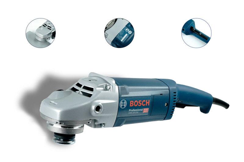 Máy Mài Góc Bosch GWS 20-230 2000W - Hàng chính hãng