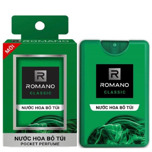 Nước hoa bỏ túi Romano Classic cổ điển lịch lãm 18ml cao cấp