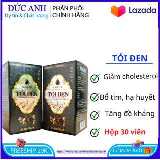 Tăng cường sức đề kháng Tỏi Đen With Coenzym Q10 bổ tim hạ huyết áp hộp 30 viên thumbnail