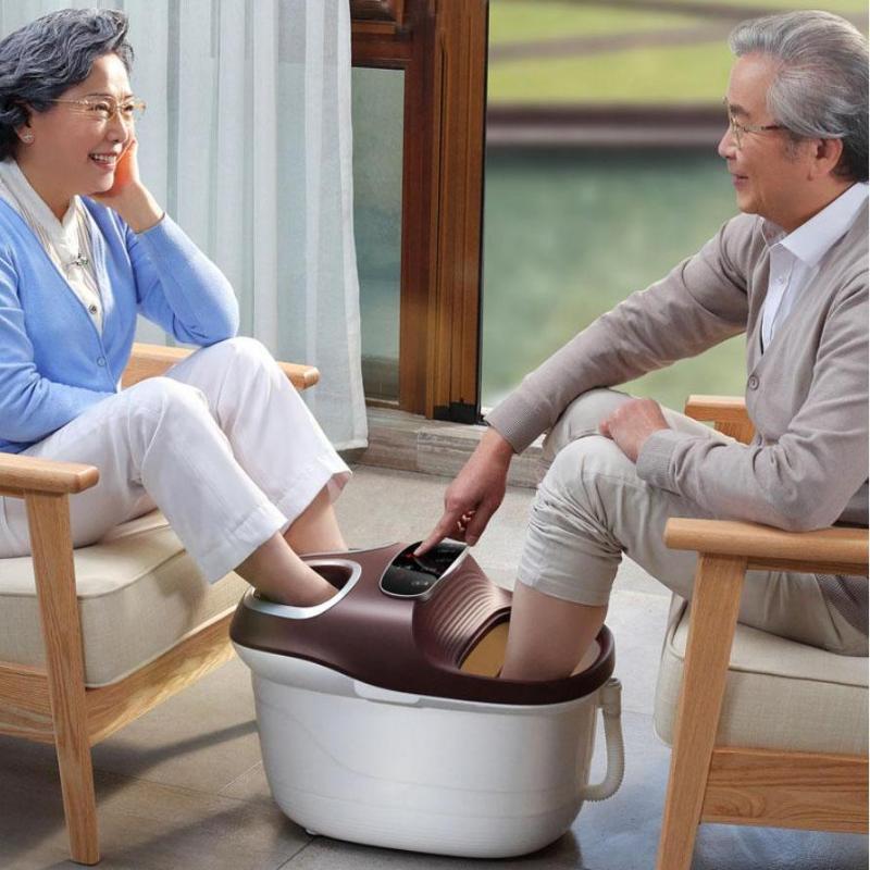 Bồn Massage Chân Kép Có Sủi Bọt, Đồng Hồ Và Điều Chỉnh Nhiệt Độ cao cấp