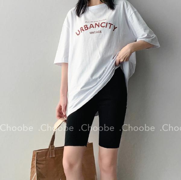 Quần legging lửng Choobe cạp chun vải cao cấp thun ngố nữ co giãn tốt dáng ôm - Q29