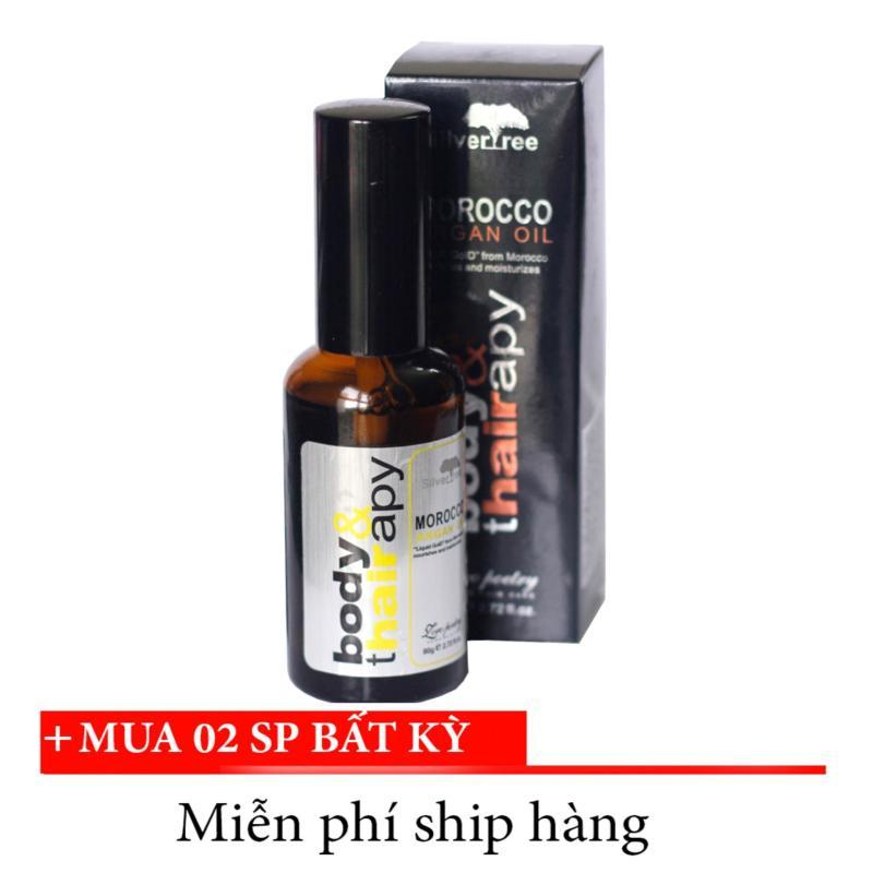 Tinh dầu Morocco Argan dưỡng tóc siêu mềm mượt (80g)
