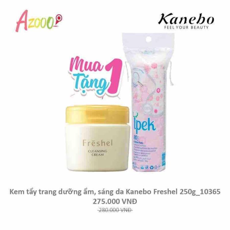 Kem Tẩy Trang Dưỡng Ẩm, Sáng Da Kanebo Freshel 250gr cao cấp