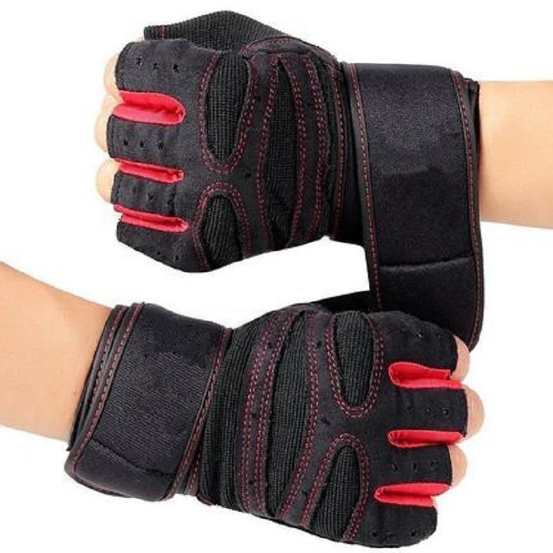 Găng tay, bao tay thể hình bảo vệ cổ tay khi tập gym tập tạ và đua xe