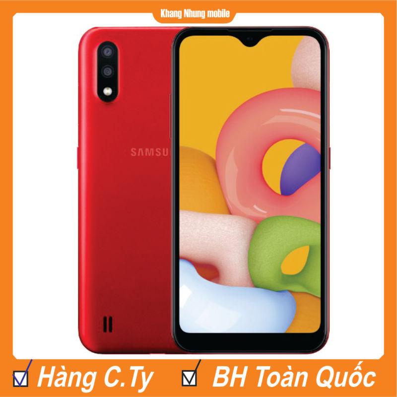 Điện thoại Samsung Galaxy A01 16GB Ram 2GB  Khang Nhung - Hàng Chính Hãng