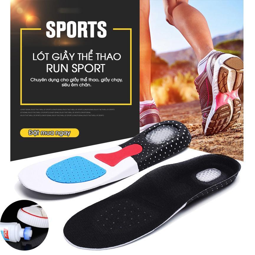 Lót giày nam cao cấp Run Sport + (tặng kèm nước lau giày siêu sạch)