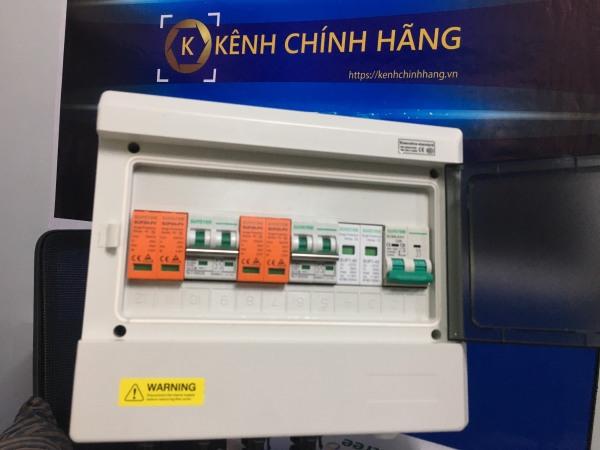 Tủ điện Chống Nước Suntree Ip65 SHA-9P - Tủ Phân Phối Điện 9WAY - 9 CB Đơn - SHA-9P