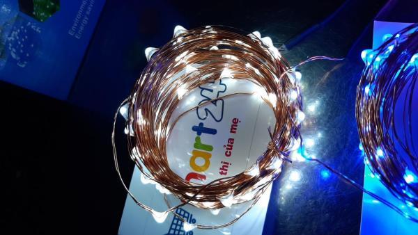 Bảng giá Dây đèn LED lights 10 mét có chui cắm